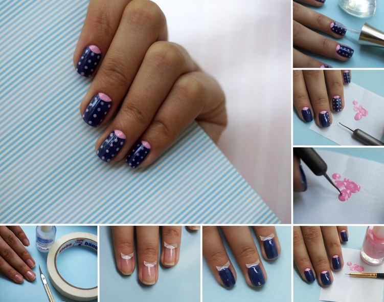 Ногти Разноцветными Лаками Фото